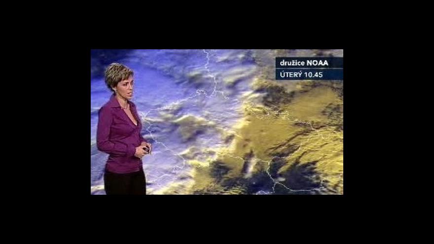 Video Předpověď počasí podle Aleny Zárybnické