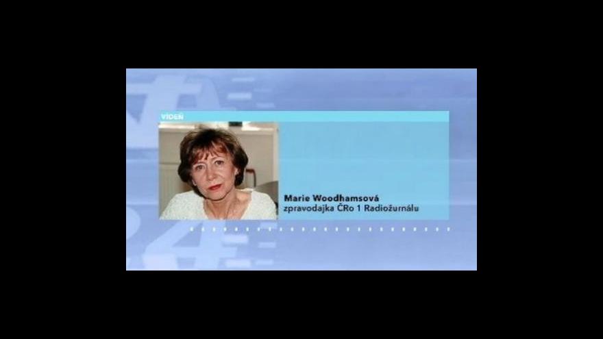Video Telefonát Marie Woodhamsové