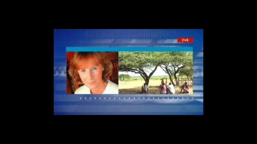 Video Rozhovor s českou velvyslankyní v Keni