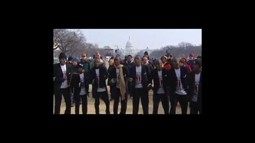 Video Vstup Tomáše Šponara z Washingtonu