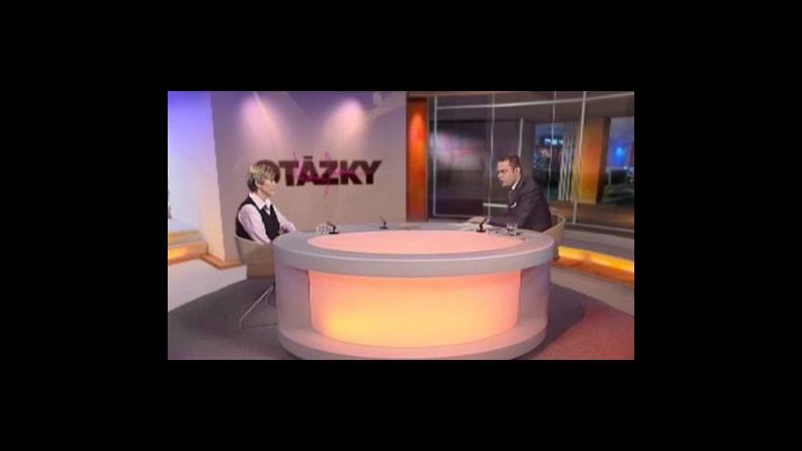 Video Kateřina Neumannová hostem Otázek Václava Moravce