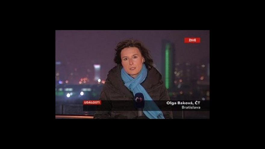 Video Na Slovensko začne zítra proudit plyn z Česka