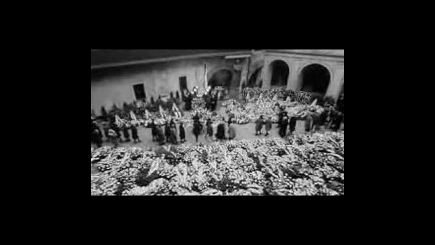 Video Vstup a reportáž Tomáše Vlacha