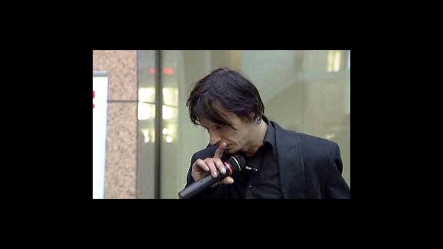Video Prezentace Davida Černého k plastice Entropa