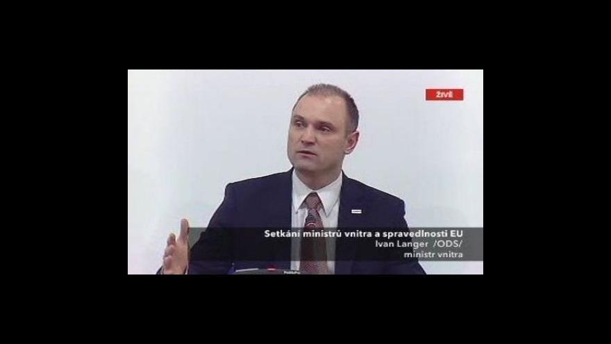 Video Brífink po setkání ministrů zahraničí a spravedlnosti EU
