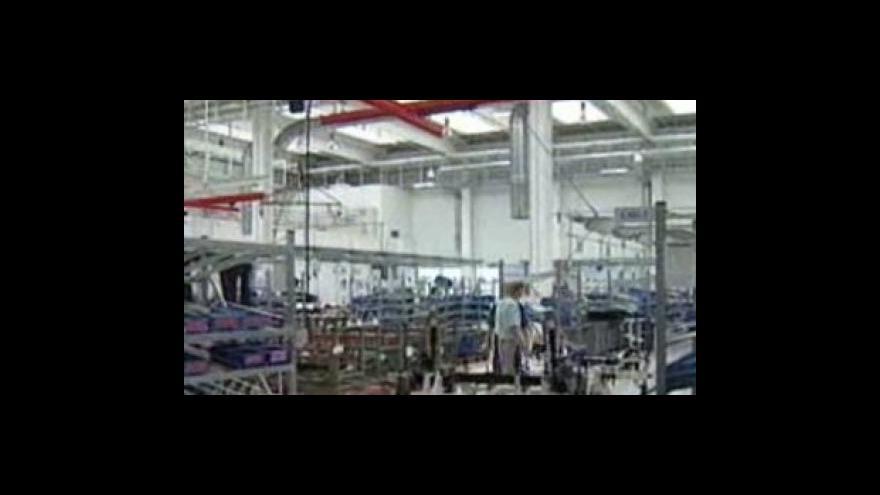 Video Pokles v průmyslu a stavebnictví