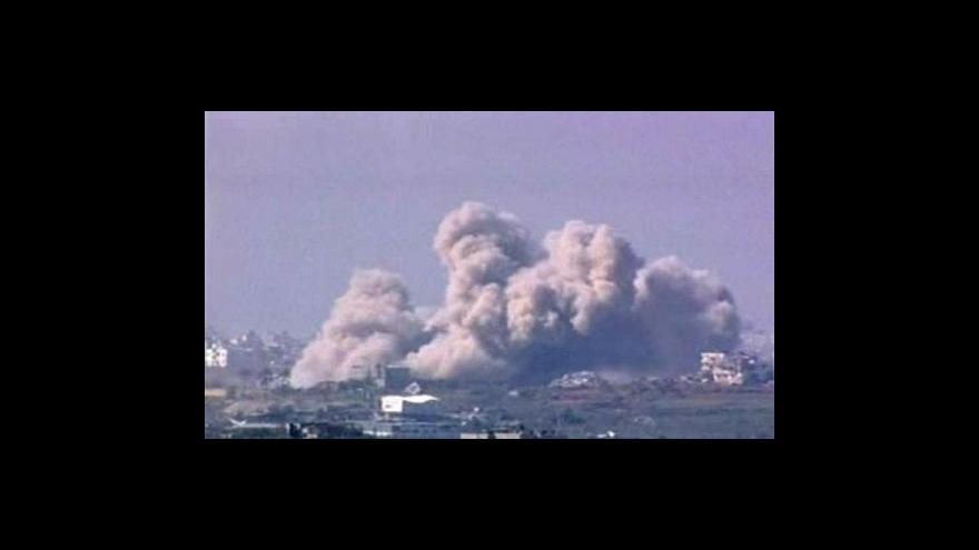 Video Izraelští představitelé se neshodují, zda operace v pásmu Gazy dosáhla svých cílů