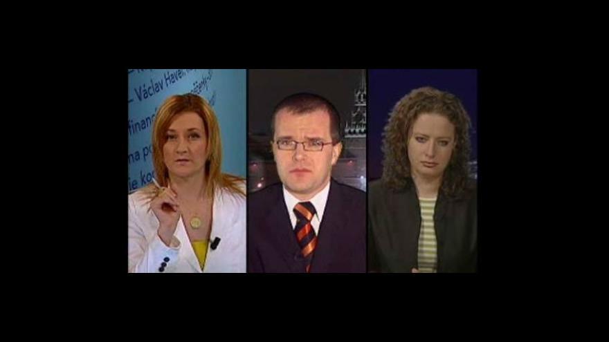 Video Události, komentáře o ukrajinsko-ruské válce o plyn