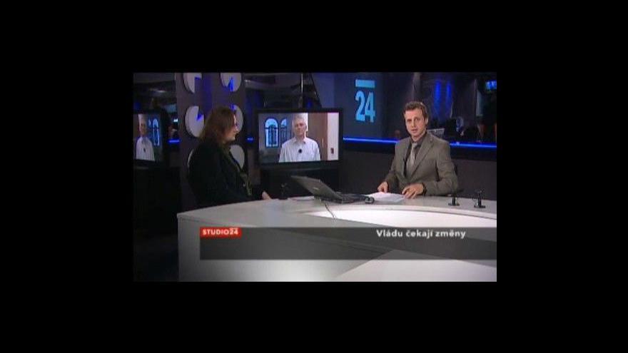 Video Studio ČT24 s Pavlem Severou