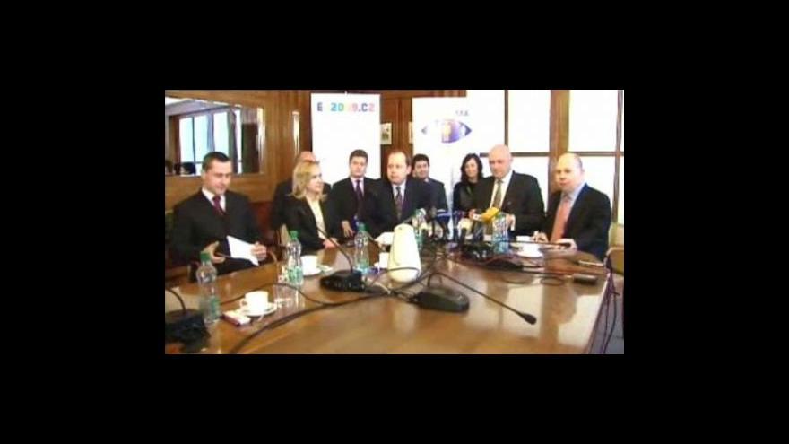 Video Brífink odcházejícího ministra Julínka
