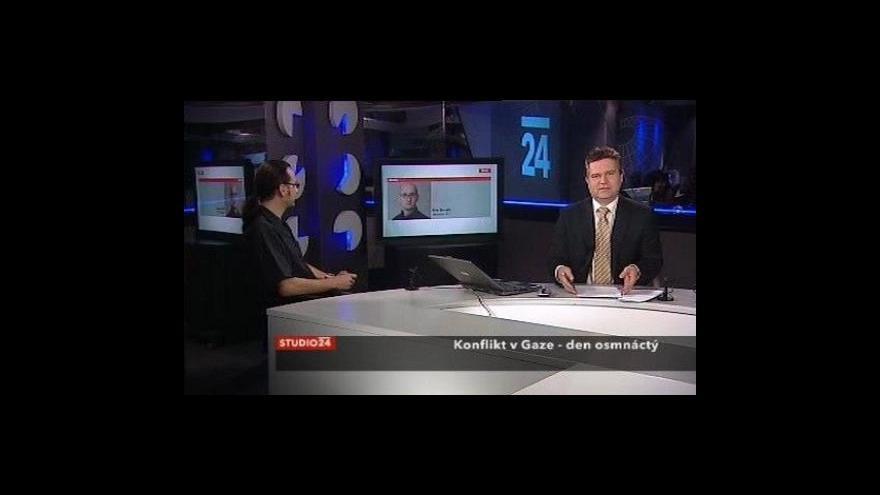 Video 18. den konfliktu v Gaze
