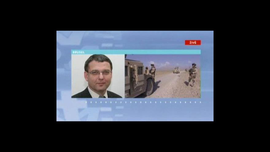 Video Telefonát Lubomíra Zaorálka z Bruselu