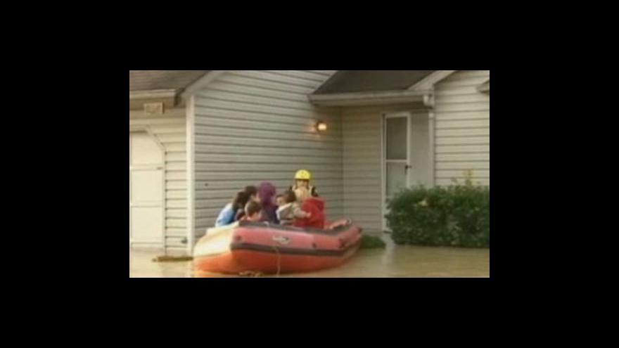 Video Záplavy ve státě Washington
