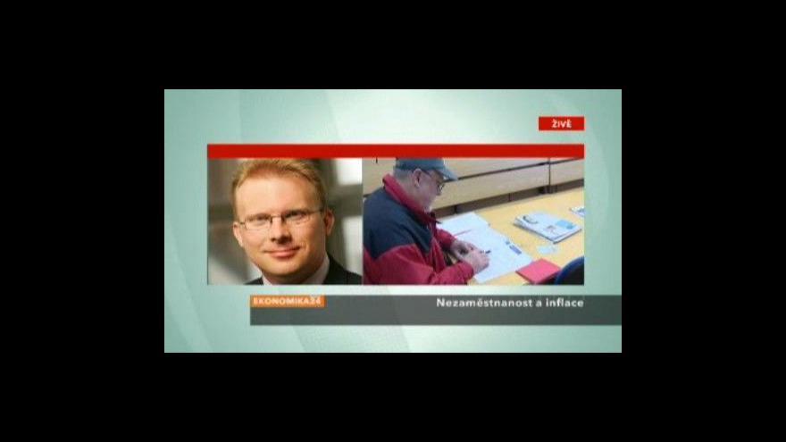 Video Analytik Jan Vejmělek o inflaci a nezaměstnanosti