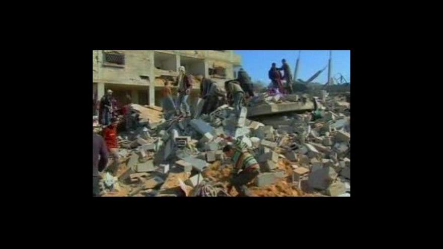 Video V Egyptě se začne vyjednávat o příměří