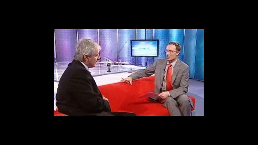 Video Rozhovor s Jiřím Rusnokem ve Studiu 6