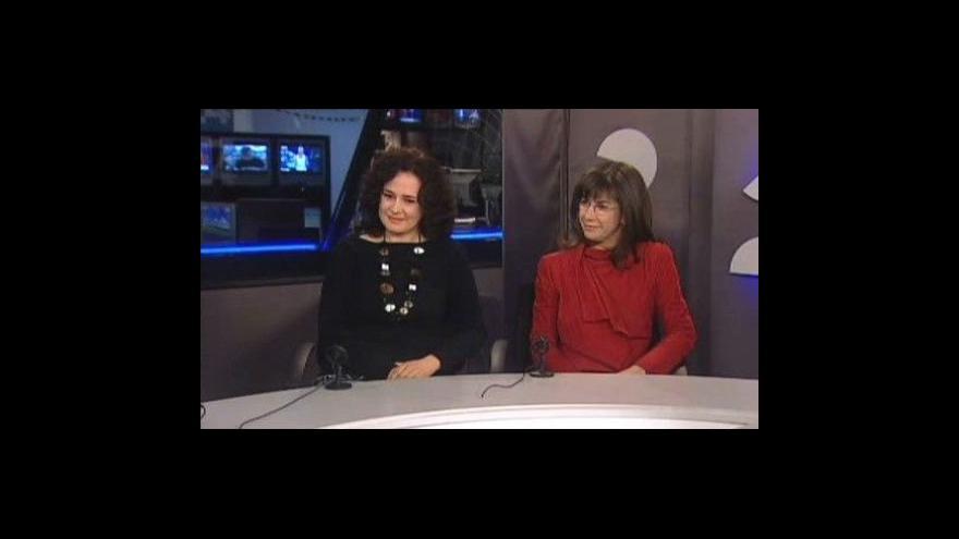 Video Simona Houda Šaturová a Alena Nachtigalová o koncertu v ČT24