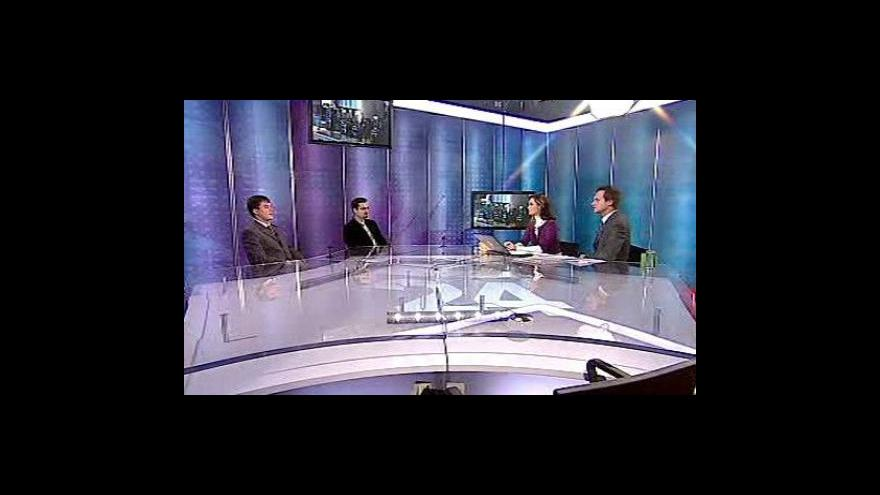 Video Dalibor Černý a Jan Vavrečka ve Studiu 6