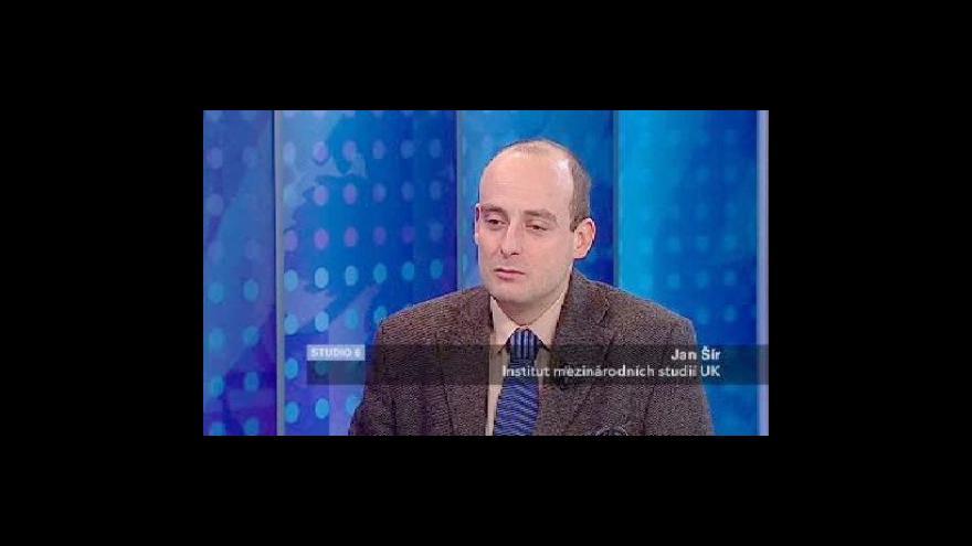 Video Jan Šír o pozadí obchodu s plynem