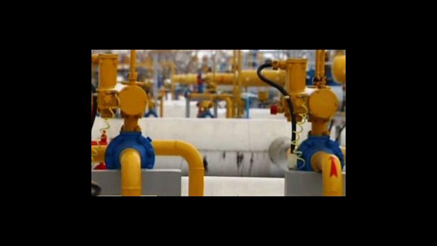 Video Méně plynu v Evropě