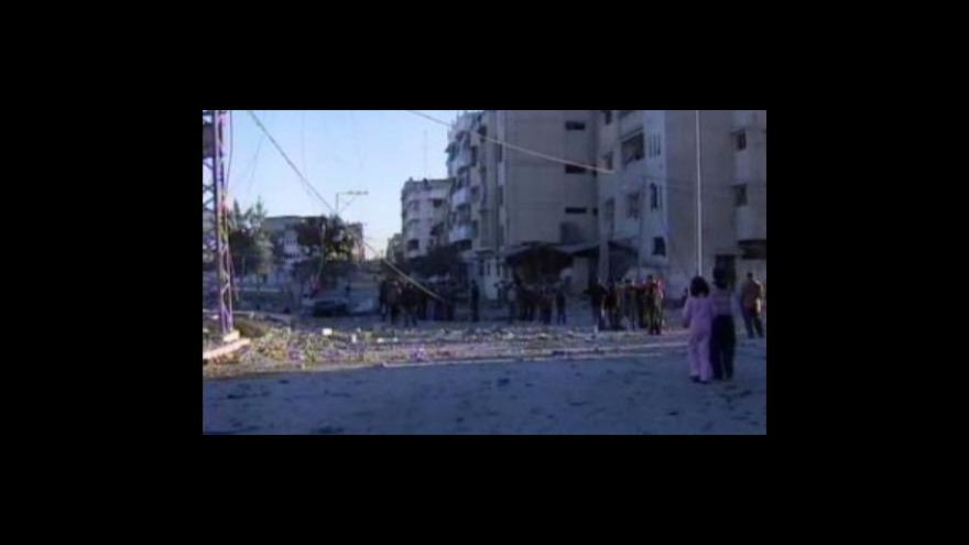Video Situace v Gaze po 11 dnech bojů