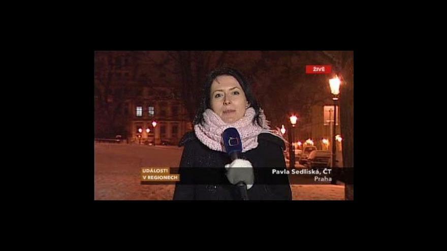 Video Vstup reportérky Pavly Sedliské