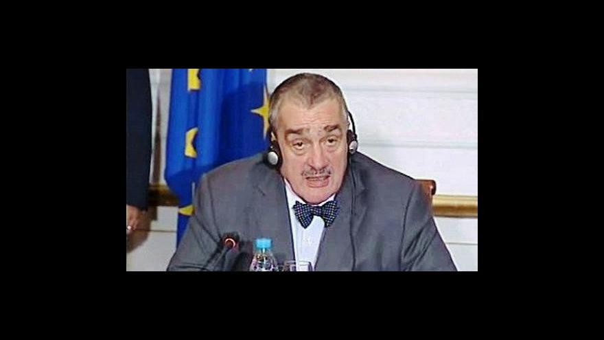 Video Doplomaté se snaží vyřešit konflikt v Gaze