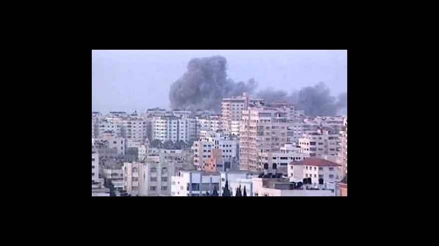 Video Izrael při bombardování zabil dalšího vysokého představitele Hamasu