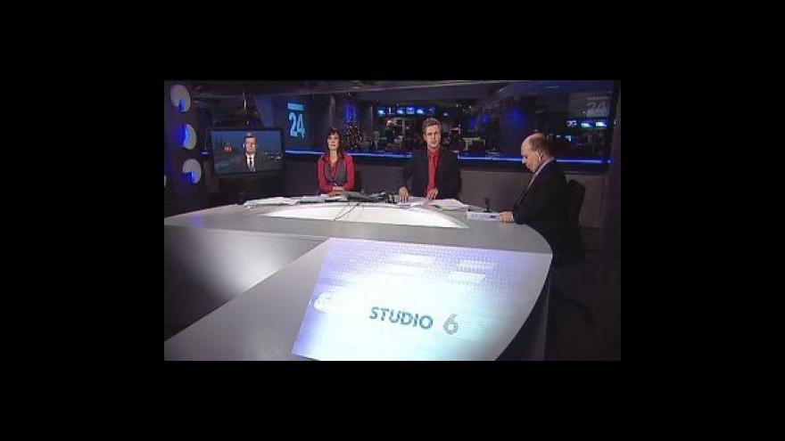 Video Polemika Tomáše Cikrta a Zdeňka Koudelky ve Studiu 6