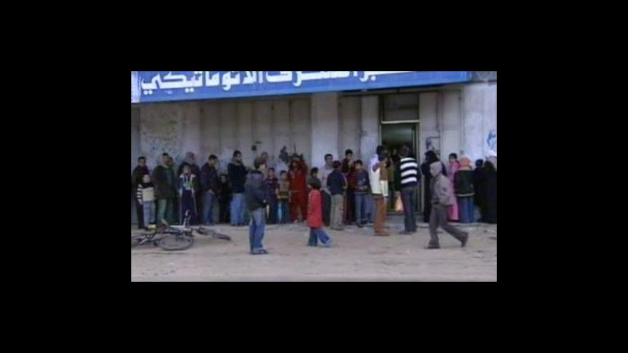 Video Reportáž o situaci v Gaze