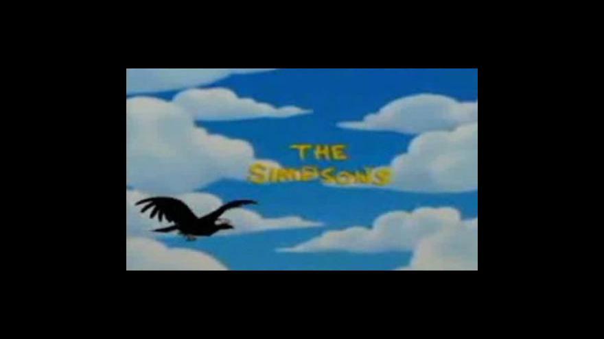 Video Události, komentáře na téma Simpsonovi
