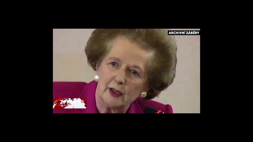Video Tvrdá a neústupná Margaret Thatcherová