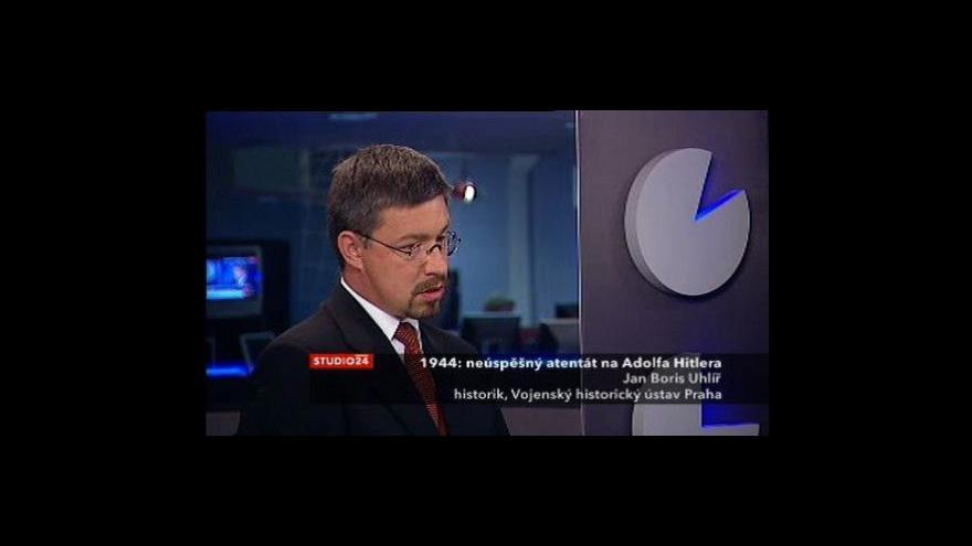 Video Historik Jan Boris Uhlíř o operaci Valkýra