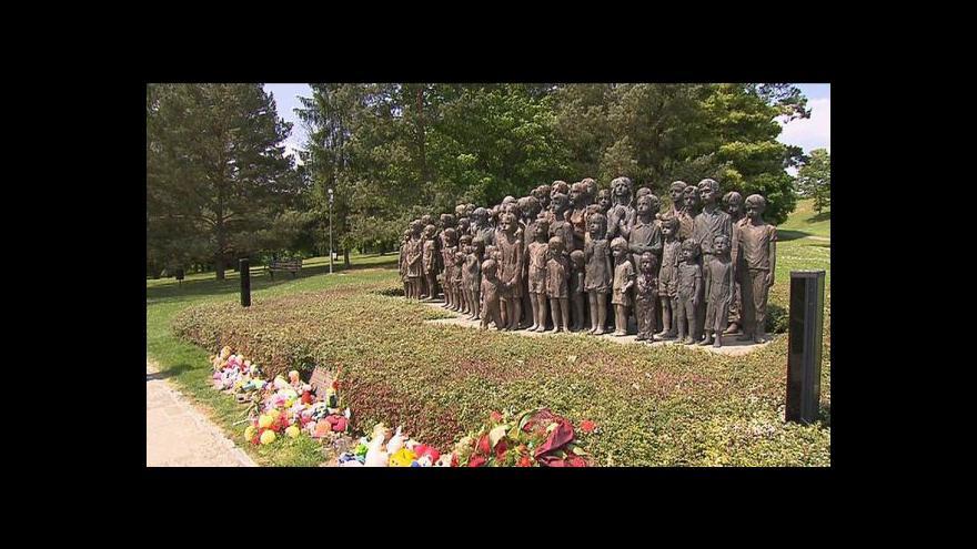 Video Vzpomínková akce v Lidicích