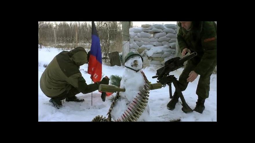Video Na východní frontě začal nový rok relativně klidně