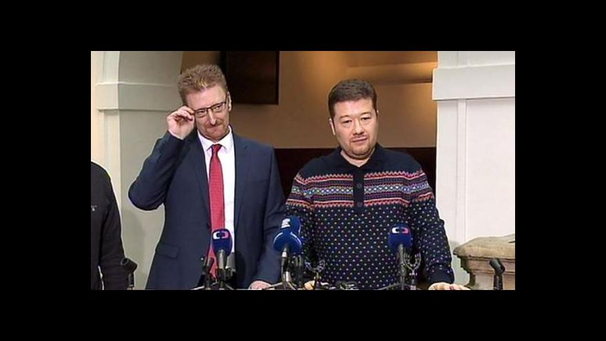 Video Nový šéf poslanců Úsvitu: Tým je potřeba stmelit