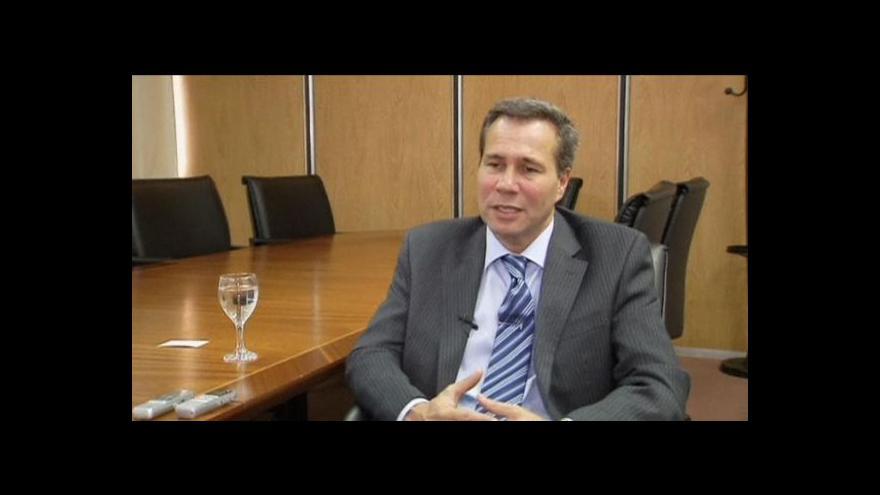 Video Mrtvý právník jako nový mučedník argentinských ulic