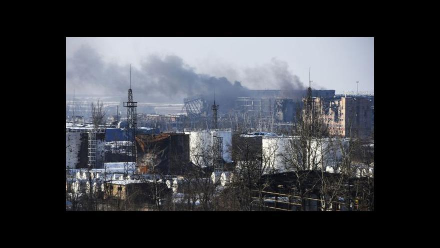 Video Karas k bojům na Ukrajině: Lidé prchají z Doněcku