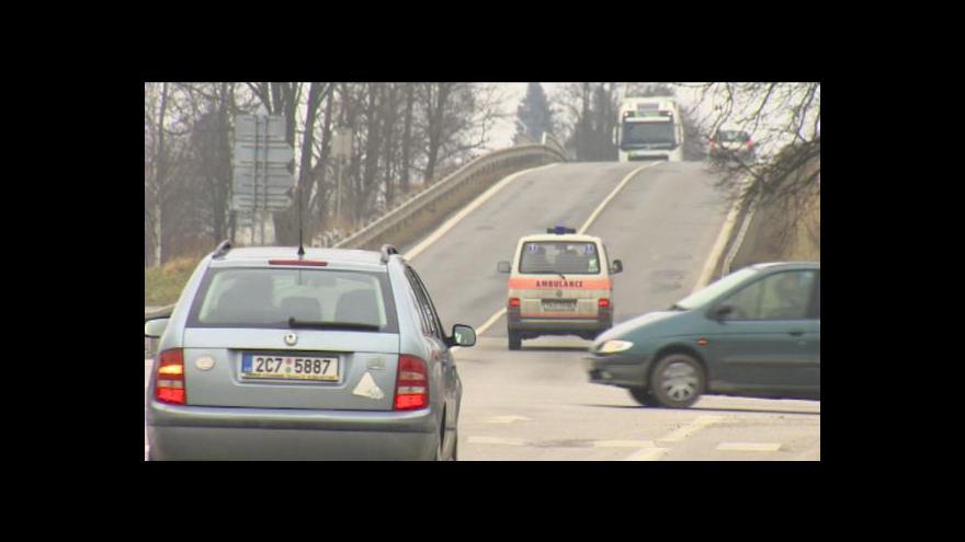 Video Trefit na dálnici D3 je stále problém