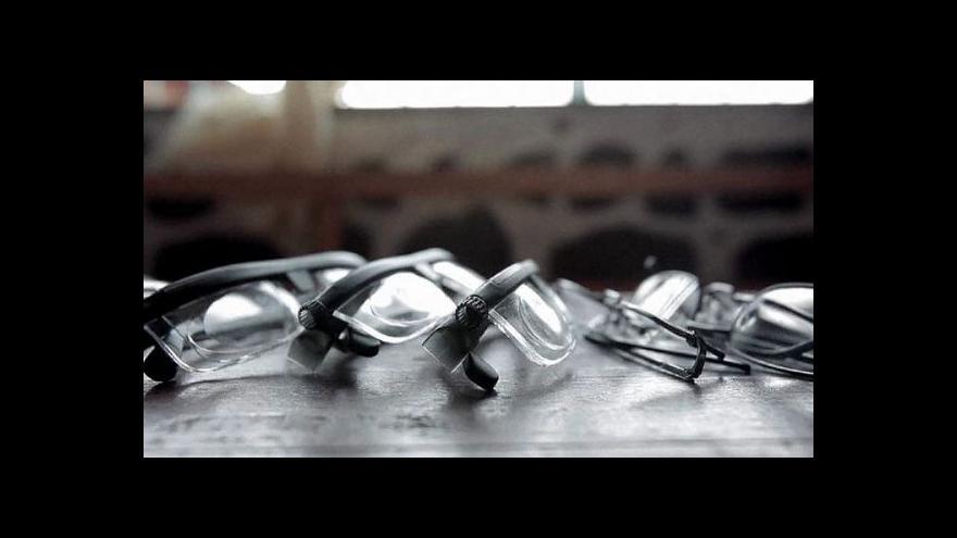 Video Naděje pro miliony: brýle s nastavitelnými dioptriemi