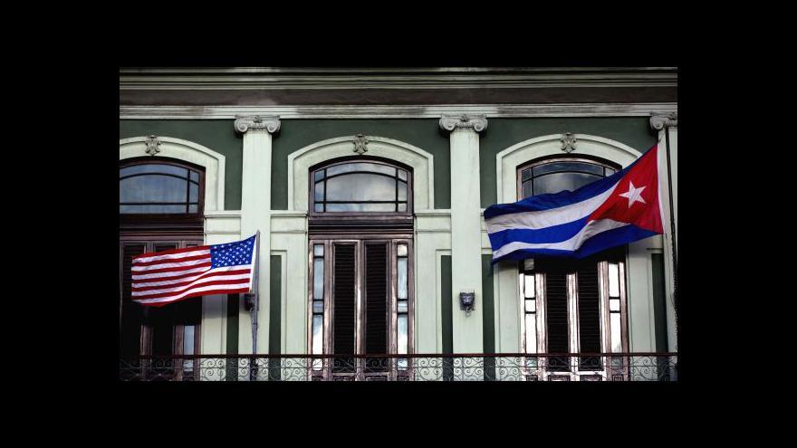 Video Havana hostí historické jednání o normalizaci vztahů
