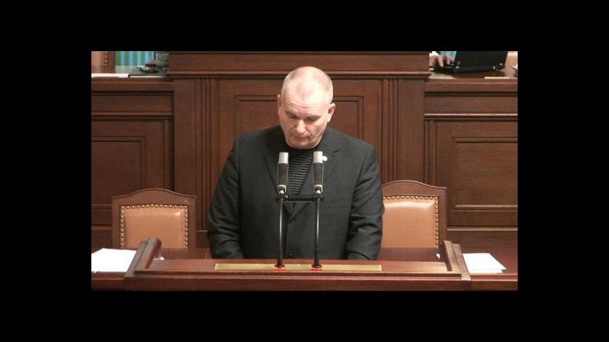 Video Předseda sněmovní komise podá trestní oznámení