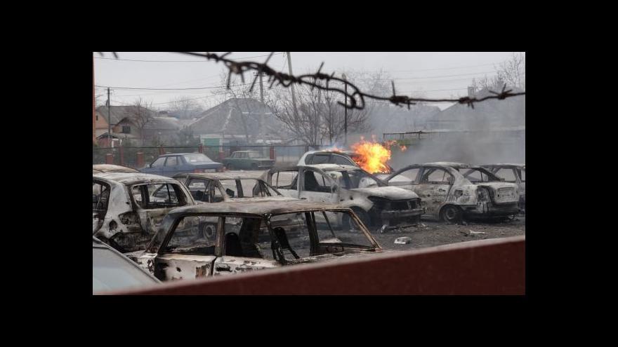 Video Ostřelování Mariupolu si vyžádalo tři desítky mrtvých