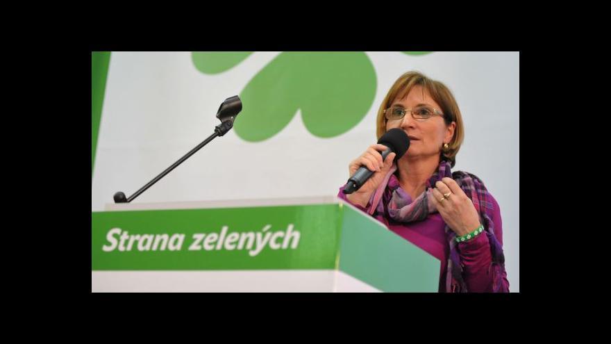 Video Předsedkyní Strany zelených se stala Jana Drápalová