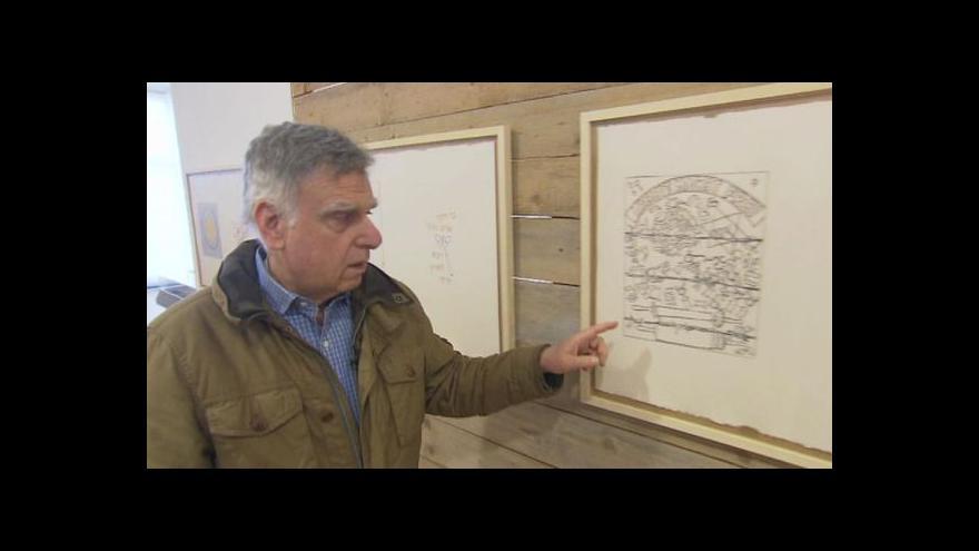 Video Mark Podwal zaujal svět výstavou To všechno nás potkalo