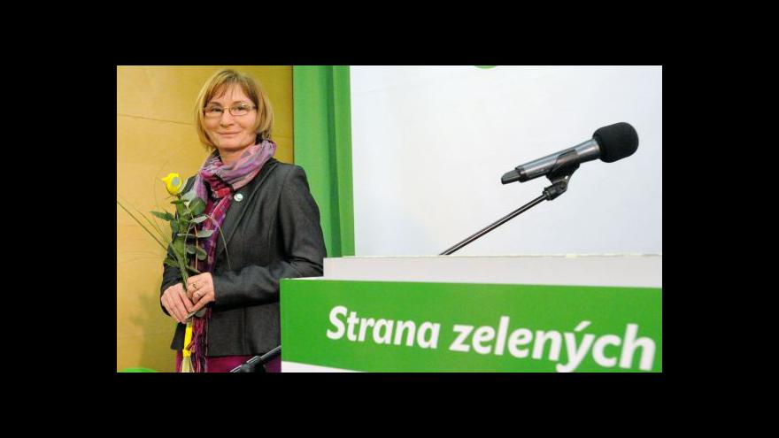 Video Zelení chtějí spolupředsednictví, muže a ženu ve vedení strany