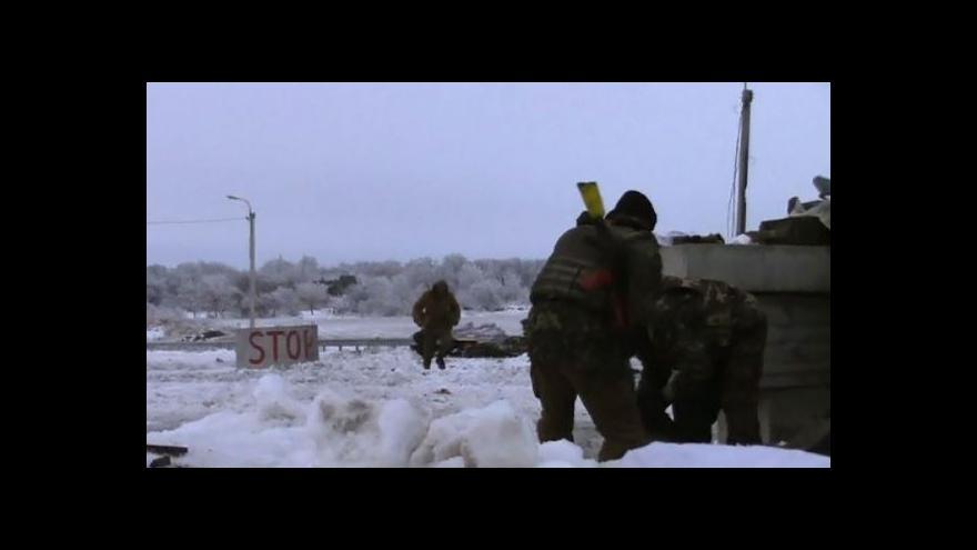 Video Východ Ukrajiny zažívá nejtvrdší střety od září