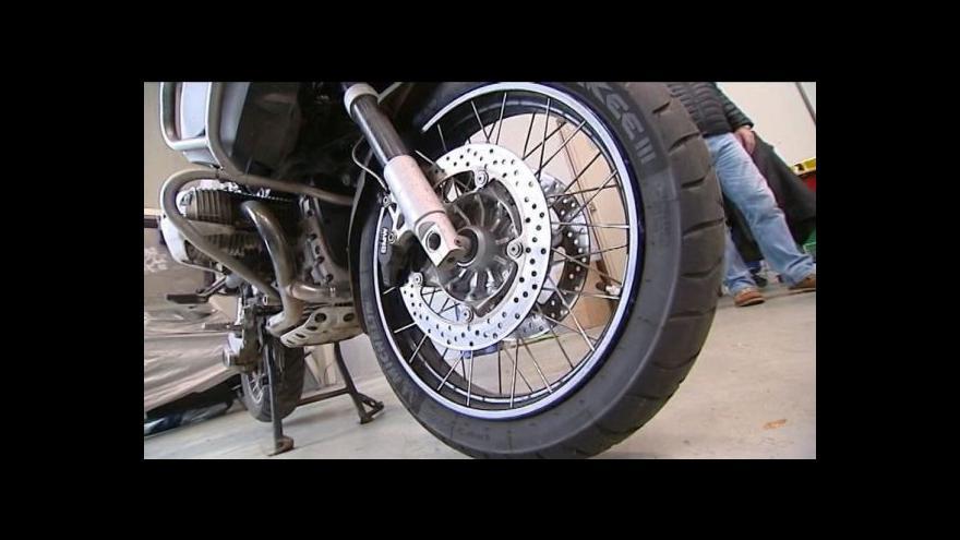 Video Na motorce k sibiřskému Bajkalu