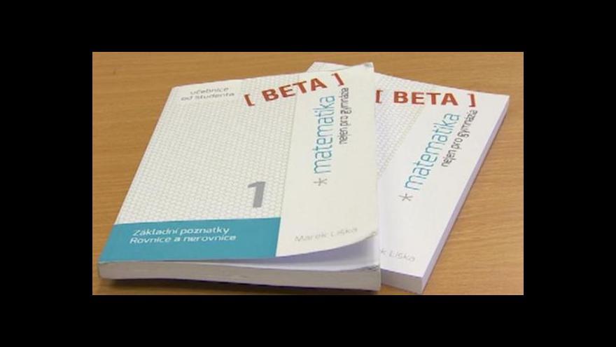 Video Učebnice matematiky napsaná studenty