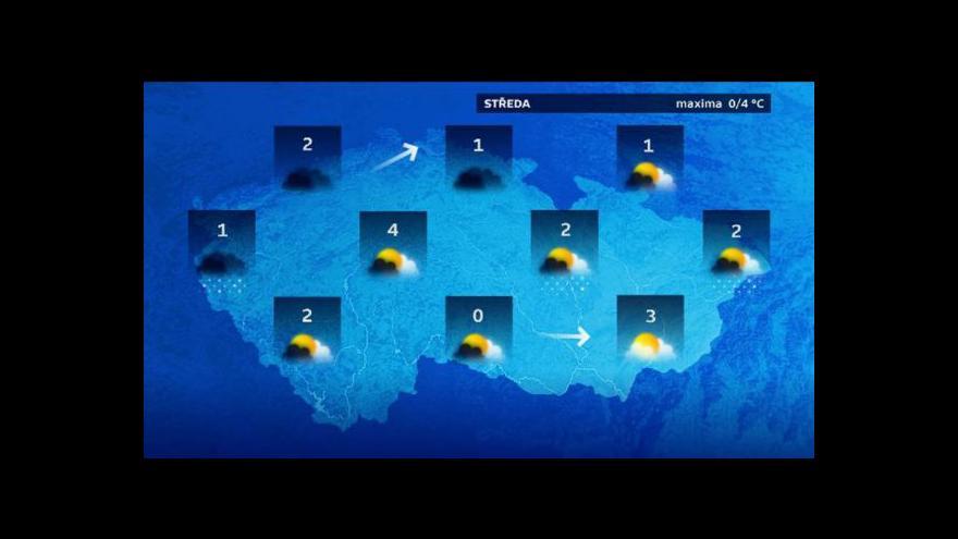 Video Předpověď počasí 27. 1. 2015
